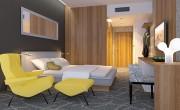 Hotel doubletree by hilton, súťaž na interiér, 2010